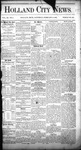 Holland City News, Volume 11, Number 1: February 11, 1882 by Holland City News