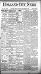 Holland City News, Volume 11, Number 30: September 2, 1882 by Holland City News