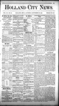 Holland City News, Volume 11, Number 33: September 23, 1882 by Holland City News