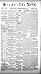 Holland City News, Volume 11, Number 39: November 4, 1882 by Holland City News