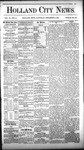 Holland City News, Volume 11, Number 43: December 2, 1882 by Holland City News
