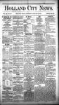 Holland City News, Volume 11, Number 50: January 20, 1883
