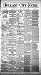 Holland City News, Volume 11, Number 52: February 3, 1883