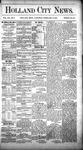 Holland City News, Volume 12, Number 1: February 10, 1883