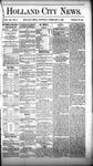 Holland City News, Volume 12, Number 2: February 17, 1883
