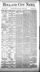 Holland City News, Volume 12, Number 5: March 10, 1883