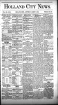 Holland City News, Volume 12, Number 6: March 17, 1883
