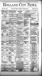Holland City News, Volume 12, Number 7: March 24, 1883
