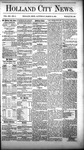 Holland City News, Volume 12, Number 8: March 31, 1883