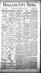 Holland City News, Volume 12, Number 9: April 7, 1883