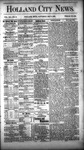 Holland City News, Volume 12, Number 13: May 5, 1883