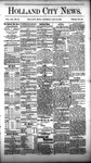 Holland City News, Volume 12, Number 15: May 19, 1883