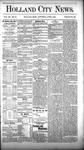 Holland City News, Volume 12, Number 18: June 9, 1883