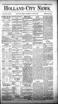 Holland City News, Volume 12, Number 20: June 23, 1883