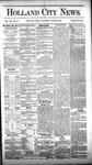 Holland City News, Volume 12, Number 21: June 30, 1883