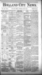 Holland City News, Volume 12, Number 22: July 7, 1883