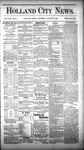Holland City News, Volume 12, Number 27: August 11, 1883 by Holland City News