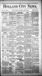Holland City News, Volume 12, Number 28: August 18, 1883 by Holland City News