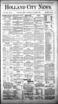 Holland City News, Volume 12, Number 29: August 25, 1883