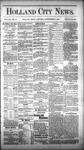 Holland City News, Volume 12, Number 31: September 8, 1883 by Holland City News