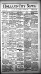 Holland City News, Volume 12, Number 35: October 6, 1883 by Holland City News