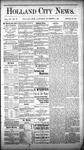 Holland City News, Volume 12, Number 39: November 3, 1883 by Holland City News
