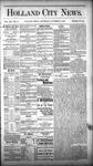 Holland City News, Volume 12, Number 41: November 17, 1883 by Holland City News