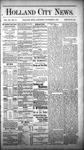 Holland City News, Volume 12, Number 43: December 1, 1883 by Holland City News
