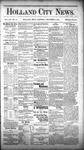 Holland City News, Volume 12, Number 44: December 8, 1883 by Holland City News