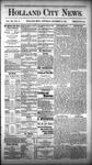 Holland City News, Volume 12, Number 45: December 15, 1883 by Holland City News