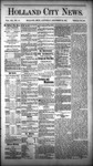 Holland City News, Volume 12, Number 46: December 22, 1883 by Holland City News
