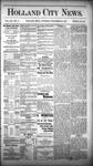 Holland City News, Volume 12, Number 47: December 29, 1883 by Holland City News