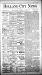 Holland City News, Volume 12, Number 49: January 12, 1884