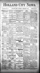 Holland City News, Volume 12, Number 52: February 2, 1884