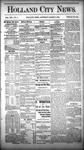 Holland City News, Volume 13, Number 5: March 8, 1884