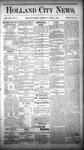 Holland City News, Volume 13, Number 9: April 5, 1884