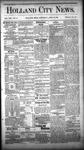 Holland City News, Volume 13, Number 10: April 12, 1884