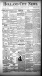 Holland City News, Volume 13, Number 14: May 10, 1884