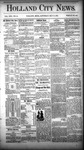 Holland City News, Volume 13, Number 15: May 17, 1884