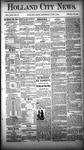 Holland City News, Volume 13, Number 18: June 7, 1884