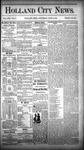 Holland City News, Volume 13, Number 19: June 14, 1884