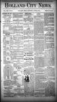 Holland City News, Volume 13, Number 20: June 21, 1884