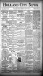Holland City News, Volume 13, Number 22: July 5, 1884