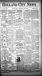 Holland City News, Volume 13, Number 25: July 26, 1884