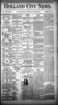 Holland City News, Volume 13, Number 29: August 23, 1884