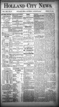 Holland City News, Volume 13, Number 30: August 30, 1884 by Holland City News