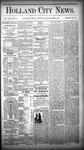 Holland City News, Volume 13, Number 31: September 6, 1884 by Holland City News