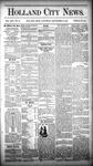 Holland City News, Volume 13, Number 34: September 27, 1884 by Holland City News