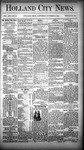 Holland City News, Volume 13, Number 37: October 18, 1884 by Holland City News
