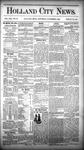 Holland City News, Volume 13, Number 39: November 1, 1884 by Holland City News